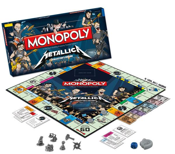 Metallica Banco Imobliliário