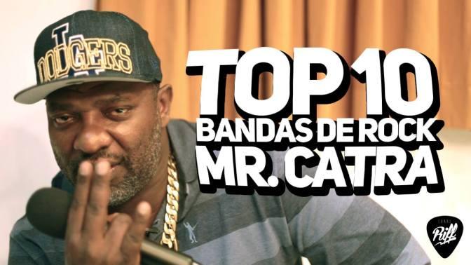 Mr Catra revela as suas maiores influências no rock