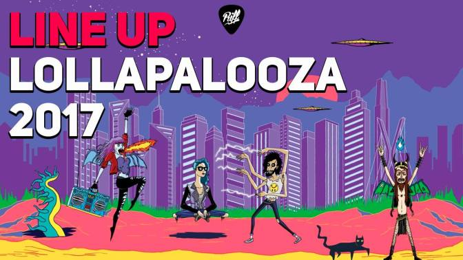 LIVE: Lineup Lollapalooza 2017