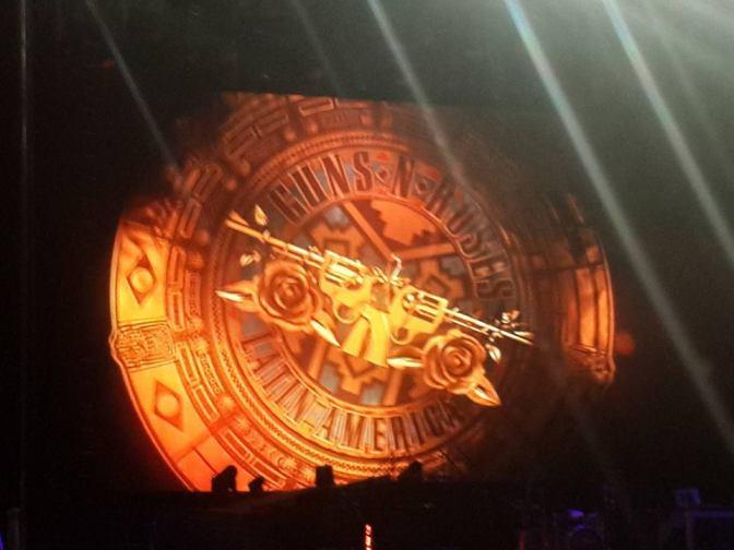 Resenha: Guns N' Roses @Estádio Mané Garrincha