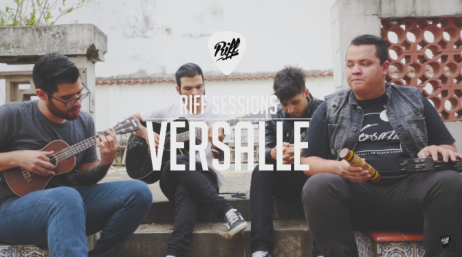 Versalle – A Saudade é Algo que Eu Não Quero (Acústica) | RIFF Sessions