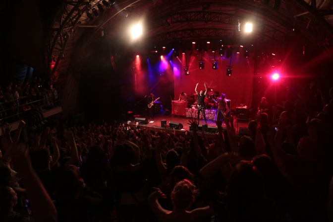 Resenha: The Maine @Circo Voador