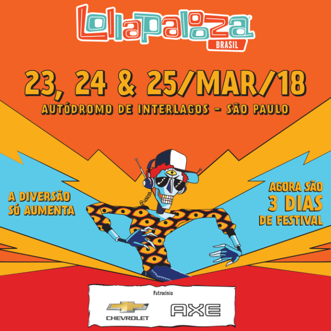 Lollapalooza Brasil: Festival confirma datas e traz novidades