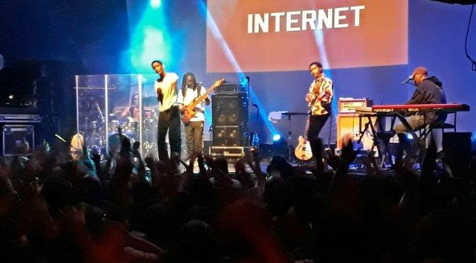 Resenha: The Internet @ Circo Voador